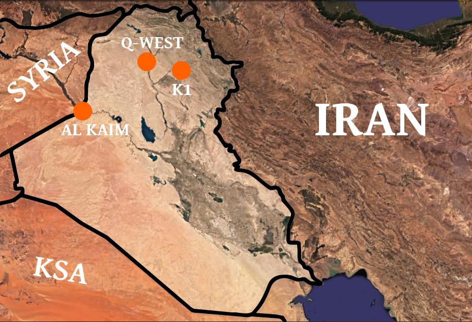 Irakmapa